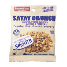 Satay Crunch Snack Packs 45gm x 10 packets