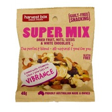 Super Mix We Love Nuts Snack Packs 45gm x 10 packets