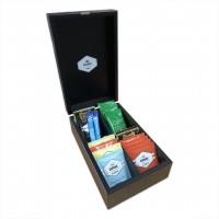 Aurora Tea 4 Compartment Box