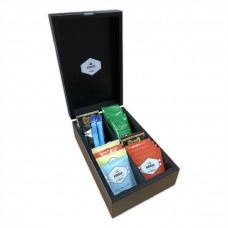 Aurora Tea 4 Compartment Box