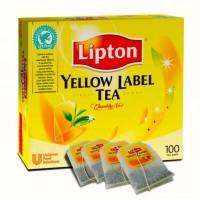 Liptons Yellow label Tea X 100