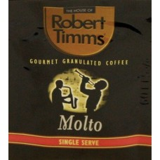 Robert Timms Molto Granulated Coffee Sachets 1000s