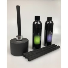 Matt Black Felt Diffuser Stick