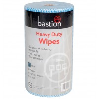 Bastion Heavy Duty Wet Wipes 45m - Blue