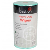 Bastion Heavy Duty Wet Wipes 45m - Green