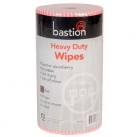 Bastion Heavy Duty Wet Wipes 45m - Red