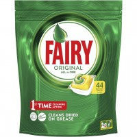 Fairy AutoDish Tab All In One Lemon x 44pk