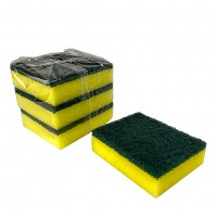 Sponge Scourer 9.5 x 7.5cm - Pack of 3