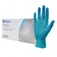 Vinyl Blue Powder Free Glove (Small)