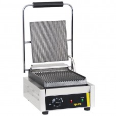 Bistro Single Contact Grill Ribbed Plates