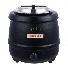 Electric Black Soup Kettle 10L