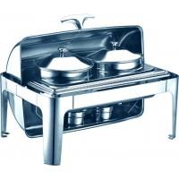 Stainless Steel Twin Soup Warmer