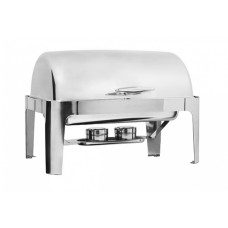 Delux Rectangular Roll Top Chafer