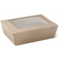 Large Cardboard Lunch Box x 50 pcs