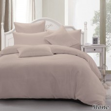 Waffle Quilt Cover Set KB - Stone