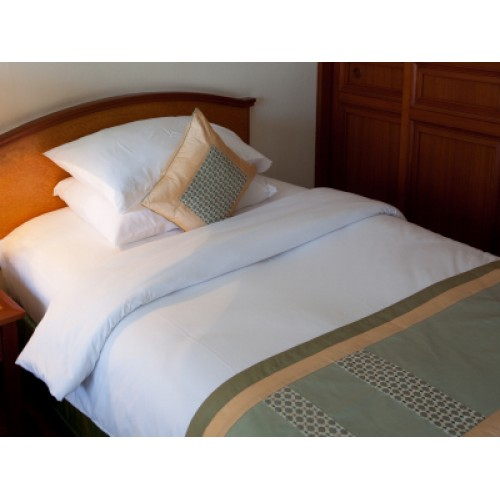 Long SB Percale Fitted Sheet 175gsm