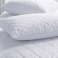 Cotton Quilted King Pillow Protector