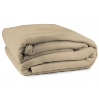 Queen (Double)  Polar Fleece - Camel