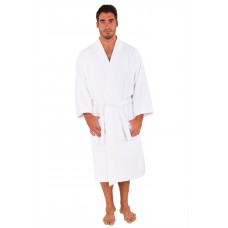 Terry Bath Robe + Free Eye Mask