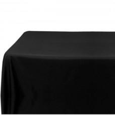 Spun Poly Tablecloth 137 x 137 cm - Black