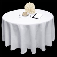 Spun Poly Round Tablecloth - 330 cm