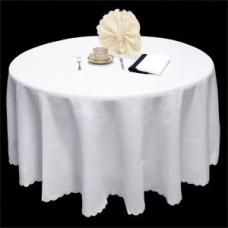 Spun Poly Round Tablecloth - 275 cm