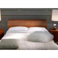 King Bed Tailored White Percale  Doona Cover