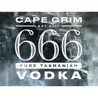 666 CAPE GRIM VODKA 50ml x 20