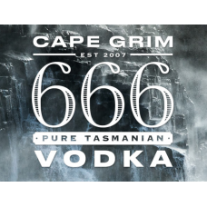 666 CAPE GRIM VODKA 50ml x 20
