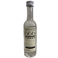 666 TASMANIAN VODKA 50ml x 20