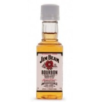 Jim Beam White Label 50ml  x 10