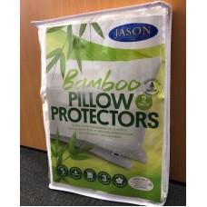 Bamboo Pillow Protector 2PK