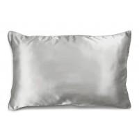 Silver Nights Silk Pillowcase