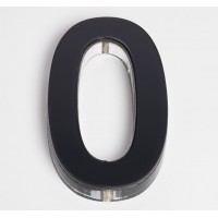 Ultra Numeral 90mm Black - 0
