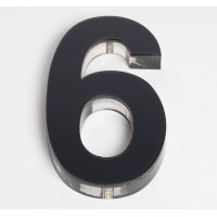 Ultra Numeral 90mm Black - 6