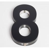 Ultra Numeral 90mm Black - 8