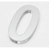 Ultra Numeral 90mm White - 0