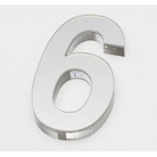 Ultra Numeral 90mm White - 6