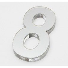 Ultra Numeral 90mm White - 8