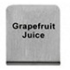 GRAPEFRUIT  JUICE - BUFFET SIGN