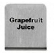 GRAPEFRUIT  JUICE - BUFFET SIGN