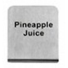 PINEAPPLE  JUICE - BUFFET SIGN