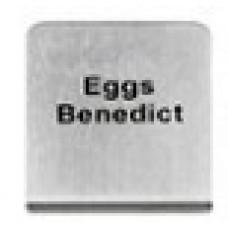 EGGS BENEDICT - BUFFET SIGN