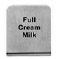 FULL CREAM MILK - BUFFET SIGN