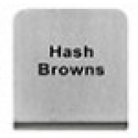 HASH BROWNS - BUFFET SIGN