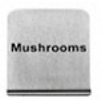 MUSHROOMS - BUFFET SIGN