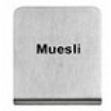 MUESLI - BUFFET SIGN