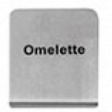 OMELETTE - BUFFET SIGN