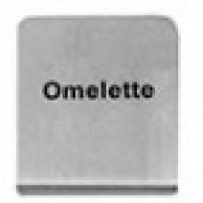 OMELETTE - BUFFET SIGN