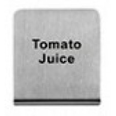 TOMATO JUICE - BUFFET SIGN